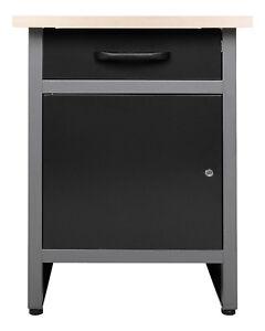 Ondis24 Werkbank Werktisch Werkstatteinrichtung Metall abschließbare Tür Montage