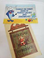 Vintage Brochure Star Kist Charlie The Tuna's guide 85s/Betty Crocker Holiday