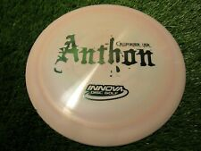 new Boss Swirly Star 175 with Josh Anthon stamp distance driver Innova disc golf
