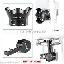 Camera Len Protector Cap & Hood - DJI Phantom 3 Standard Professional Advanced