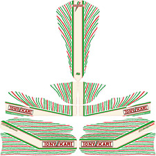 2015 TONYKART 401 STYLE FULL KART STICKER KIT FIT M5 B/WORK KARTING  JakeDesigns