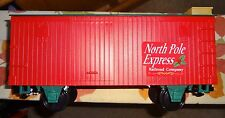 "Eztec - Scientific Toys ""G""North Pole Express Boxcar-1"