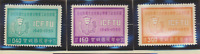 China (Republic/Taiwan) Stamps Scott #1245 To 1247, Mint Never Hinged