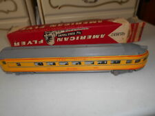 ORIGINAL AMERICAN FLYER S SCALE #24840 UNION PACIFIC STREAMLINE OBSERVATION CAR