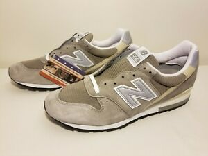 New Balance M996 Made in USA Grey Suede Mesh Sneakers Size 13 B Width M996 New