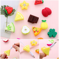 Cute Cartoon Fruit Cable Bite Phone Charger Protector Soft Cord Accessories HQ
