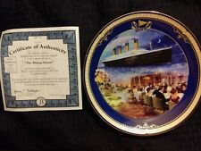 """""""The Dining Saloon"""" Titanic Queen of the Ocean authentic plateware #327A"""