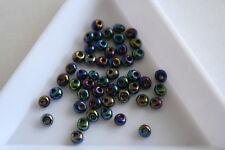 ARCOBALENO METALLICO iride TOHO Magatama Perline. 3mm. 150 Perline ca. #7530