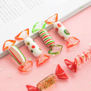 Glass Candy Decoration Christmas Ornaments Murano Handmade Sweets Party Decor