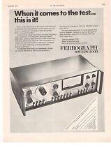 Ferrograph The Hyde Colindale RTS1 Hi Fi Recorder Test Set 1971 Vintage Advert