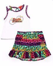 Apple Bottom Girls 2 Pc Set Shirt &  Skirt Outfit Size 2T