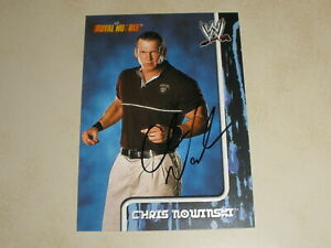 2002 Fleer WWE Royal Rumble Autograph Auto #6 Chris Nowinski