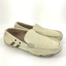 47880ef916683a GBX Elite Beige Canvas Slip On Loafers Driving Shoes Mocs Casual Men s ...