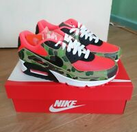NEW UK4 Nike Air Max 90 Reverse Duck Camo 2020 Infrared CW6024 600 Atmos yeezy/