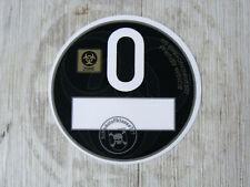 Feinstaubplakette Plakette O BLACK schwarz Oldtimer Youngtimer US Car Cult V8