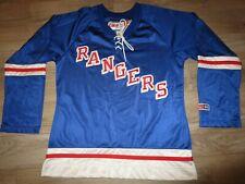 New York Rangers CCM NHL Hockey Jersey Womens LG Large