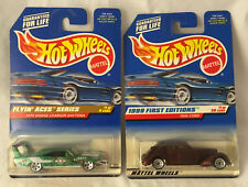 Hot Wheels Diecast Flyin Aces 1970 Dodge Charger & 1999 First Editions 1936 Cord