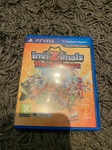 Invizimals:The Alliance game for the Sony PlayStation PS Vita.
