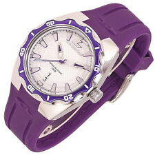 CHRONOTECH Armbanduhr, WR100, Big Date, Silikonband, Damenuhr, NEU