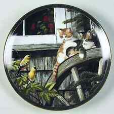 Surprise Visit Bradford Exchange Persis Weirs Cat Plate