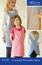 Crossback Reversible Adult and Child Apron Sewing Pattern by Indygo Junction