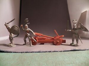 Timpo 56mm Solid Knight Lot Three Different Plus Hong Kong Catapult