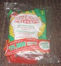 2000 Saban's Power Rangers McDonalds Happy Meal Toy - Red Ranger #1