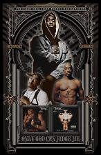 """Tupac Shakur-11x17"""" collage poster - vivid colors/deep blacks - signed by artist"""