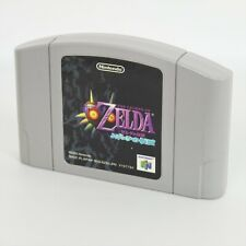 Nintendo 64 1.0 Ver ZELDA The Legend of MAJORA'S MASK Cartridge Only n6c