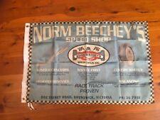 holden ford Brock Moffat v8 NORM BEECHEY Gmh man cave flag bar banner sign