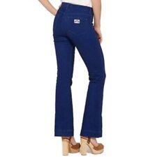 Wrangler High Waist Flare Jeans Limited Edition Indigo Retro Rainbow Tag W28 L34