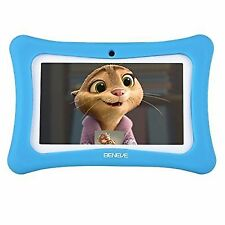 Kids Tablet,7 Inch Tablet PC Andriod 7.1 with 1GB RAM 8GB ROM and WiFi - BLUE