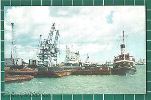 (CWC) Malaya 1950s/1960s Port Swettenham Selangor Postcard #3303 Near Mint