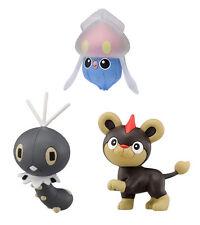 Set of 3 Pokemon MC-013 Inkay/MC-016 Scatterbug/MC-017 Litleo Mini Figures Toys