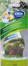 Fresh Way DF04 - Dry So Fresh Car Air Freshener (Pine) 3 Pack