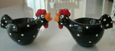 A Pair of Vintage Hen Egg Cups