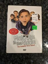 Malcolm in the Middle SEASON 1 (DVD) TV Comedy Bryan Cranston FACTORY SEALED New