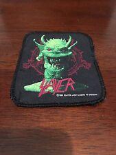 "Slayer Patch 1990 4"" x 3.25"""