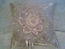 Ringkissen Hochzeit Rose ca. 20x20cm