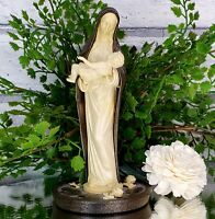Vintage Blessed Virgin Mary Madonna Statue Italy Catholic Religious Alter Cmas