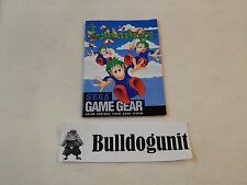 Lemmings Sega Game Gear Manual Only No Game