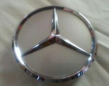 """Mercedes Benz Center Cap Silver chrome 3"""" diameter rim center set of (4)"""