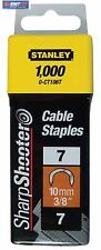 Stanley 1-CT106T Abrazadera de cable Ct 100 10 mm 1000 St para 6-Ct-10