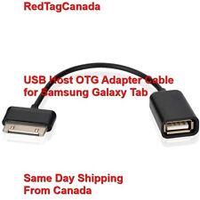 USB Host OTG Adapter Cable for Samsung Galaxy Tab Black - Canada