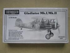Encore 1/72 Gloster Gladiator Mk I / Mk II Biplane Model Kit