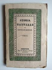 "LIBRO ANTICO BROSSURE DECORATA ACQUERELLATA ""STORIA NATURALE"" 1832"