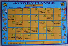 A4 Perpetual Family Magnetic Monthly Planner Organiser