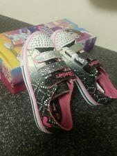BNIB Skechers Kids Twinkle Toes  Light-Up Sneaker Us3