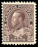 CANADA 116a Mint 10¢ F-VF NH Unitrade $450.00 - Stuart Katz