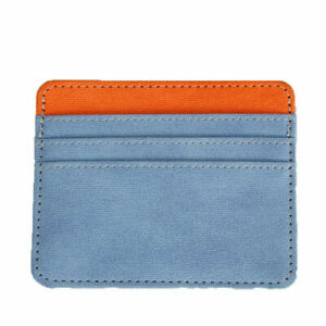Credit Card Cover Wallet Card Holder Candy Color Women Card Bag ID Card Holder